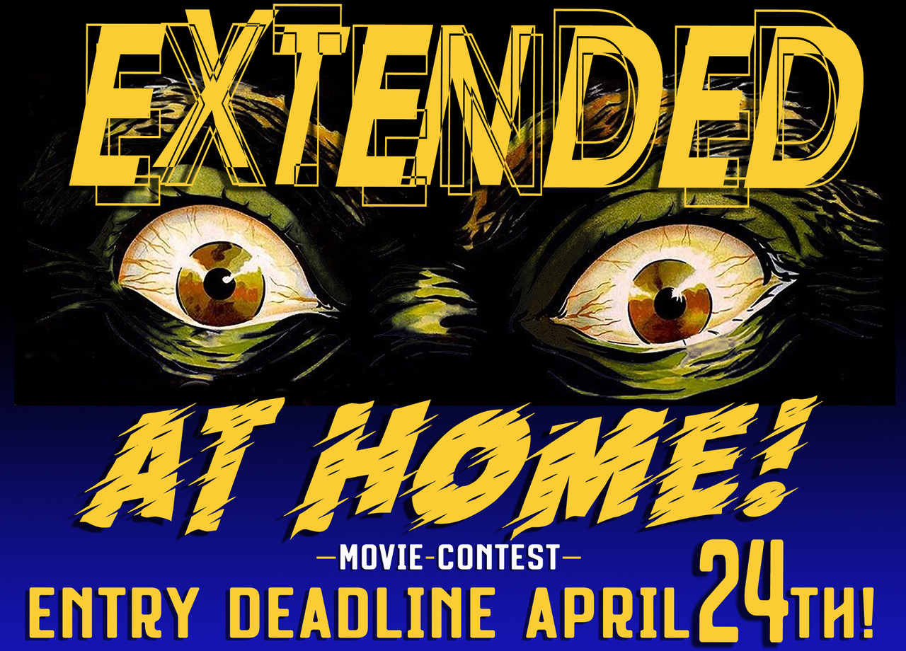 The At Home! Movie Contest Deadline Extended
